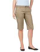 Girl  Khaki Long Version Shorts