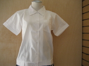 White Overblouse 6th-8th