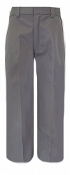 Boys Dark Grey Twill Pants