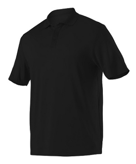 BOYS BLACK POLO