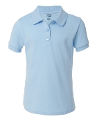 BOYS LIGHT BLUE POLO