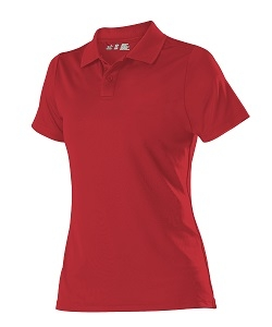 GIRLS CRIMSON POLO