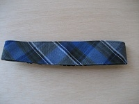 Anthony Plaid Soft Headband